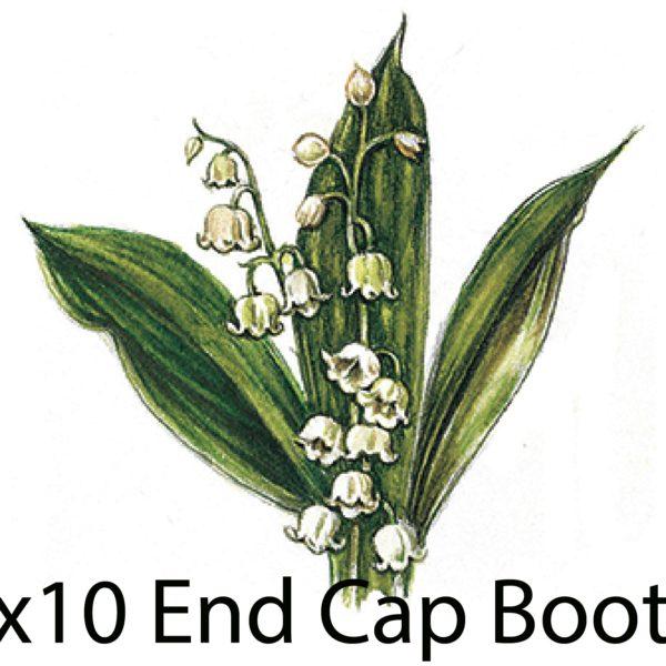 8x10 end cap